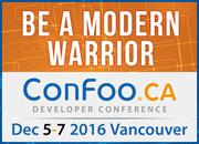 ConFoo December 5-7, 2016 in Vancouver